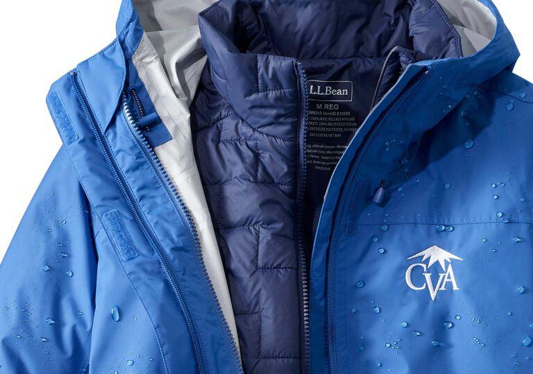 L.L.Bean Trail Model Waterproof 3-in-1 Jackets with Logos