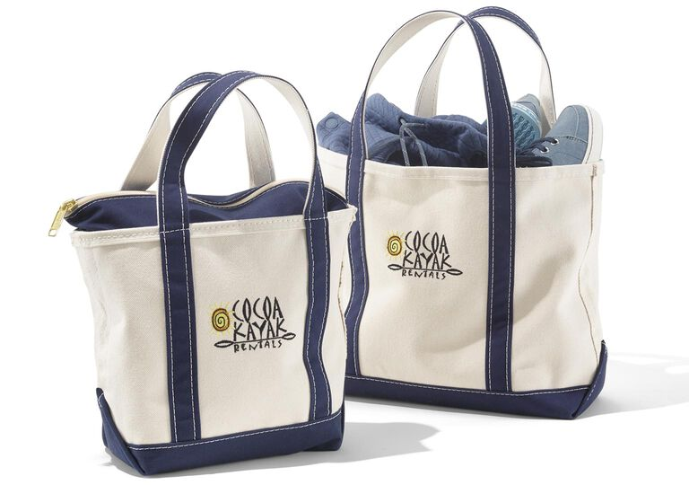 L.L.Bean Boat and Totes with Logos