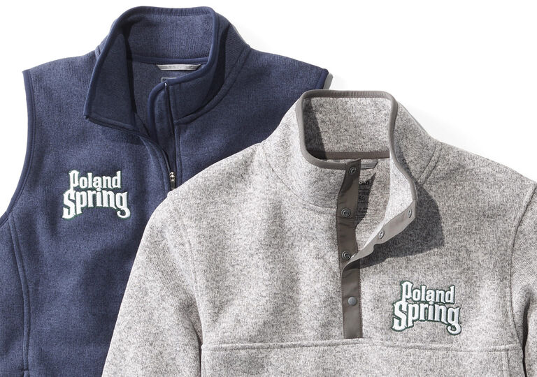 L.L.Bean Sweater Fleece with Logos