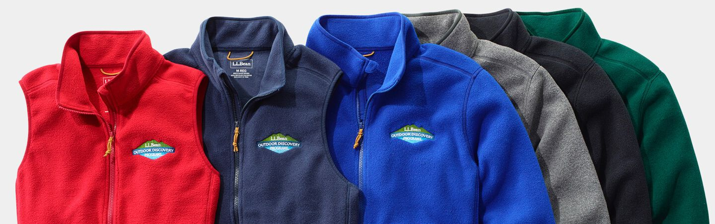 Mountain Classic Fleece Jackets and Vests