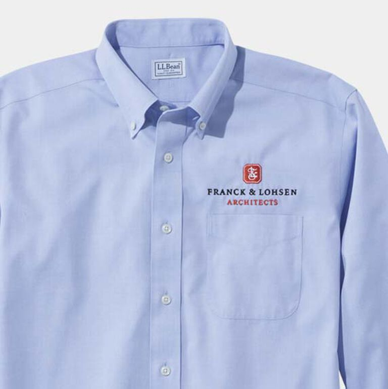 Oxford Business Shirt with Logo