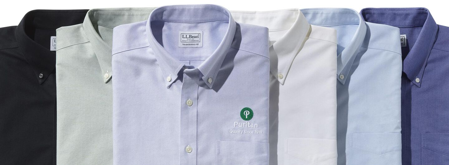 Wrinkle-Free Classic Oxford Cloth Shirts